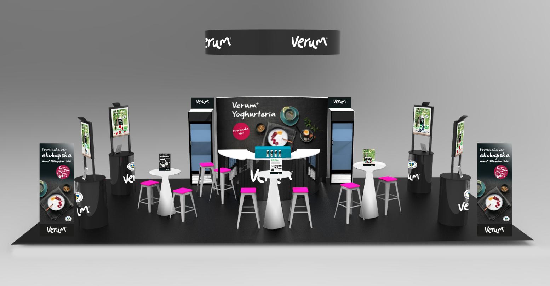 Design of units Verum yoghurteria