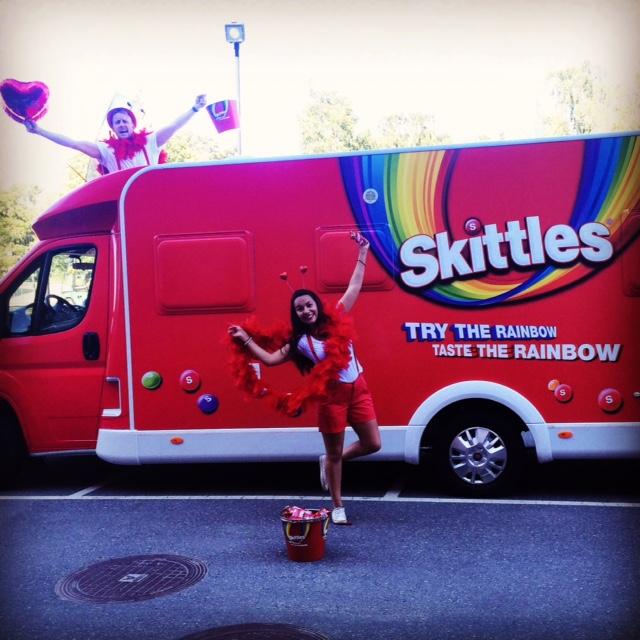 Design of bus Skittles