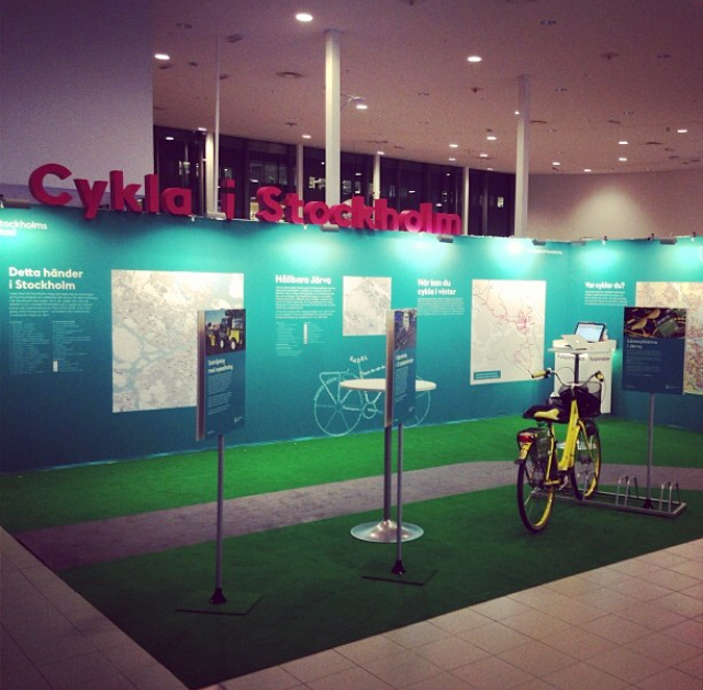 Design of stand bycicle event -13