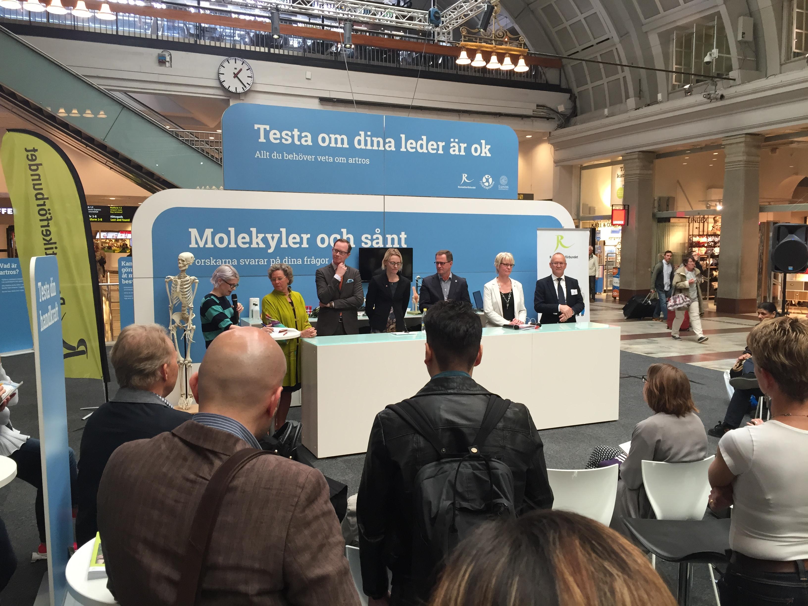 Design of event units artrosdagen