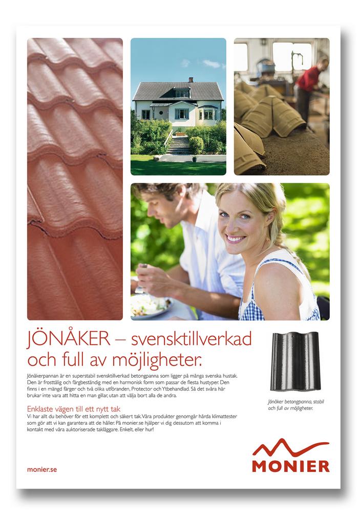 Design of Monier ad