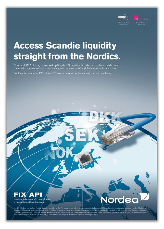 Design of Nordea ad