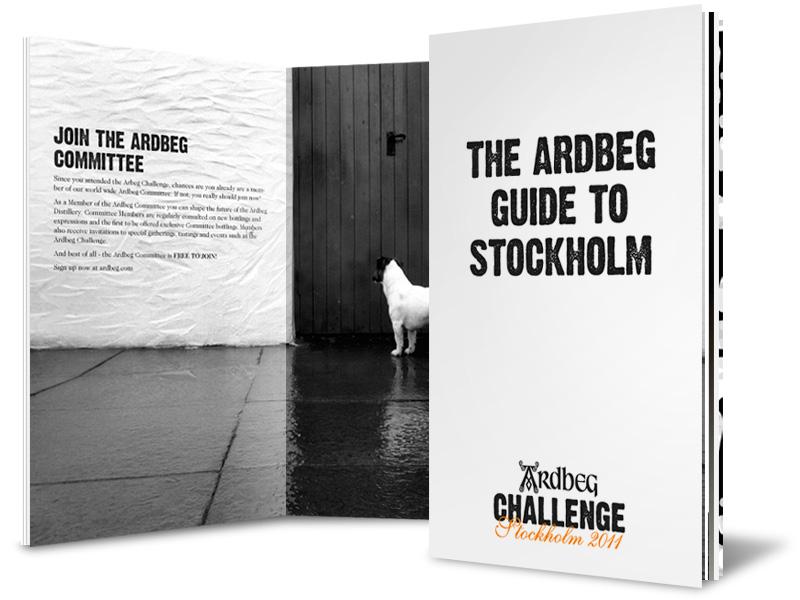 Design of Ardbeg guide
