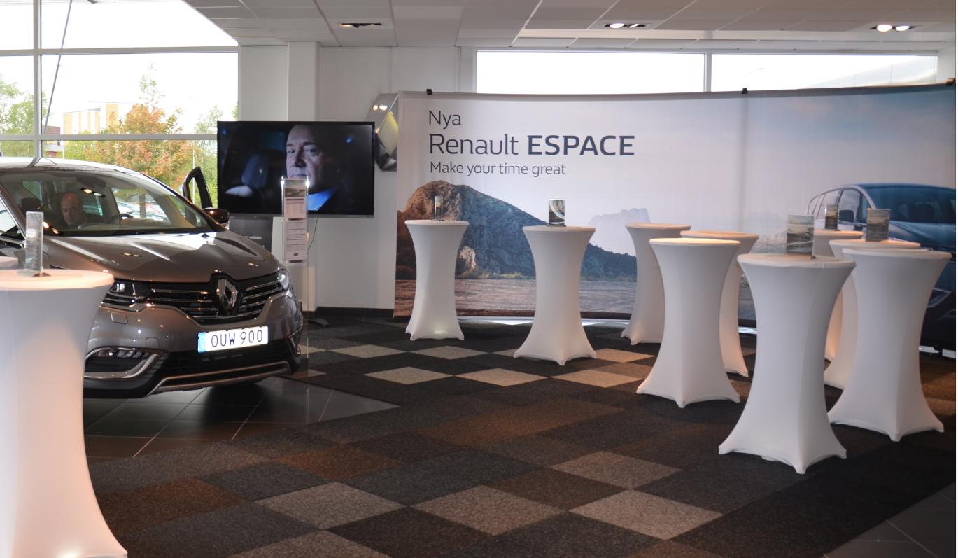 Production event Renault