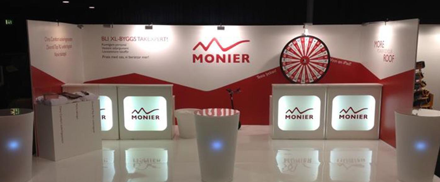 Design of Monier stand