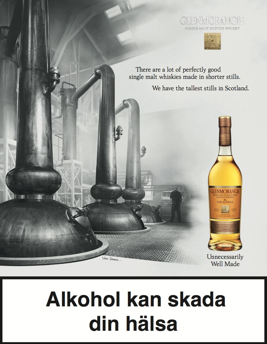 Production of Glenmorangie ad