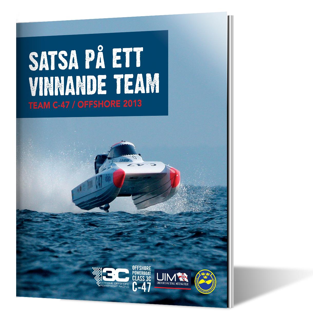Design broschure TeamC47