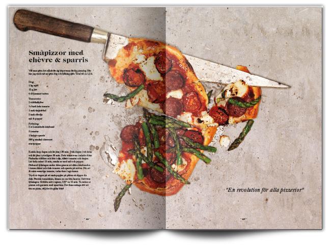 Design of cookbook Ello i Lammhult