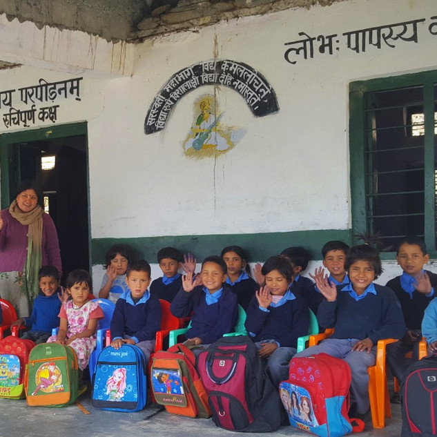 Doongri School- school supported by our