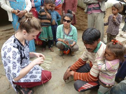 Handicraft making