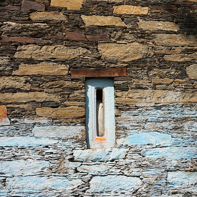 Ancient house window
