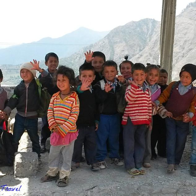 Kindergarten children