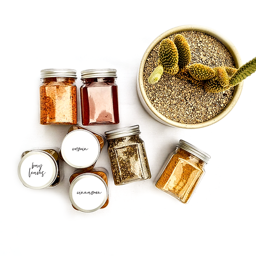 CIRCLE | HERB & SPICE ME LABELS | PIMP MY PANTRY