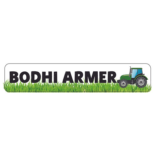 TRACTOR RECTANGLE PACK | LUNCH & DRINK BOTTLE LABELS