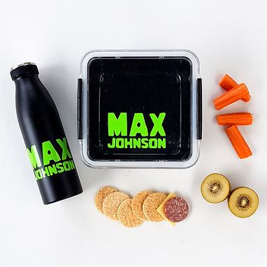 BOX PACK   SIMPLE RANGE LUNCH & DRINK BOTTLE DECALS