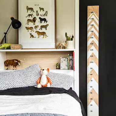 SIMPLE HEIGHT CHART MARKERS | WALL DECALS