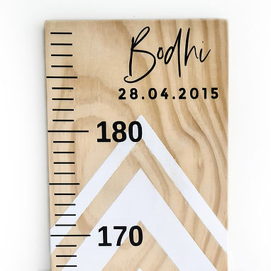NAME & DATE | HEIGHT CHART