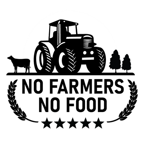 SUPPORT FARMERS   OUTDOOR DECAL