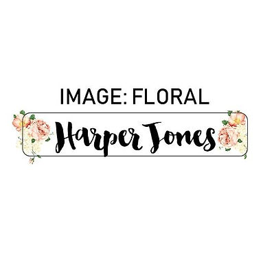 FLORAL NAME ME   IRON ON LABELS