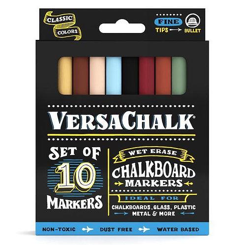 CLASSIC CHALK MARKER FINE 10 PACK | VERSACHALK
