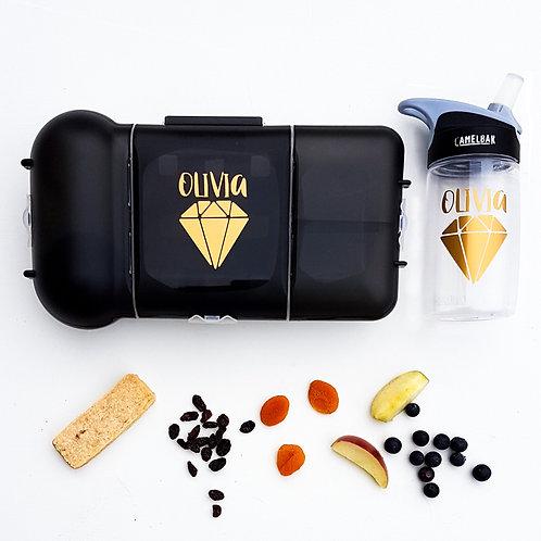 DIAMOND PACK | LUNCH & DRINK BOTTLE DECALS