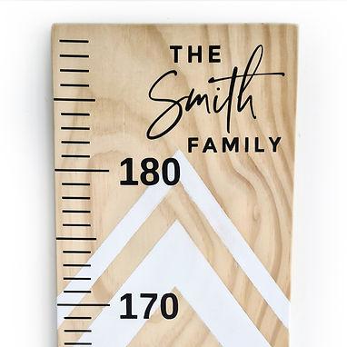 FAMILY NAME   HEIGHT CHART