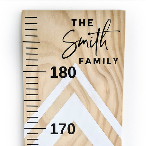 FAMILY NAME | HEIGHT CHART