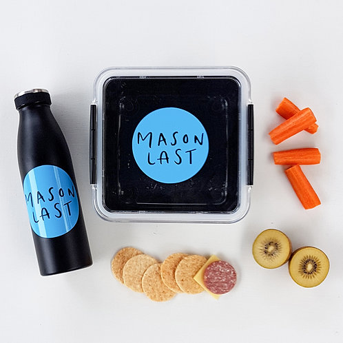 CIRCLE PACK | SIMPLE RANGE LUNCH & DRINK BOTTLE DECALS