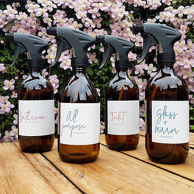 STYLE ME RECIPE RANGE | CLEANING LABELS