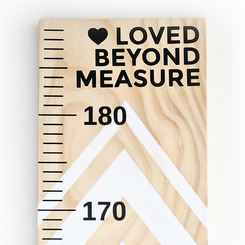 LOVED BEYOND MEASURE | HEIGHT CHART