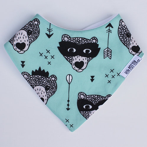 SUPER BEAR DRIBBLE BIB