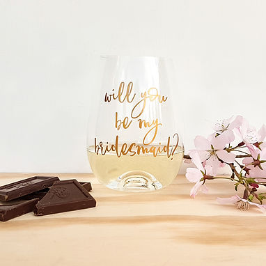 WILL YOU?   WEDDING DECALS