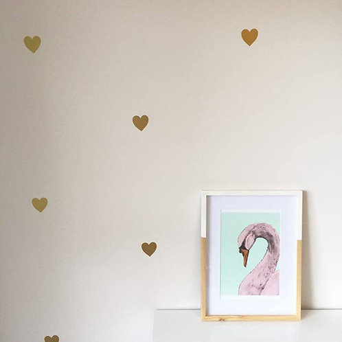 HEARTS | WALL DECAL