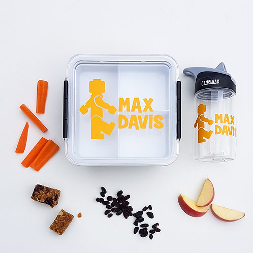 LEGO PACK | LUNCH & DRINK BOTTLE DECALS