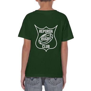 KIDS GREEN TEE | REPOROA RUGBY