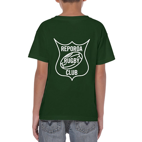 KIDS GREEN TEE   REPOROA RUGBY