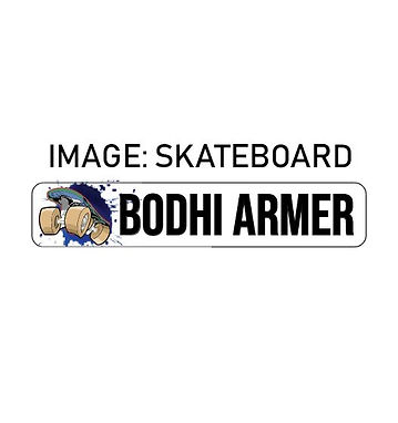 SKATEBOARD NAME ME | IRON ON LABELS