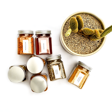 RECTANGLE | HERB & SPICE ME LABELS | PIMP MY PANTRY