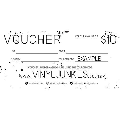 $10 VOUCHER   GIFT VOUCHER