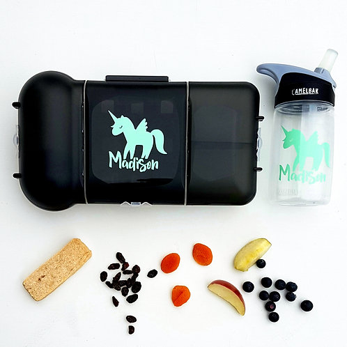 UNICORN PACK | LUNCH & DRINK BOTTLE DECALS