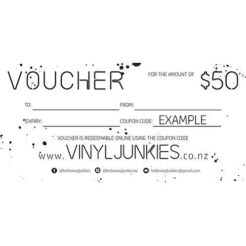 $50 VOUCHER | GIFT VOUCHER