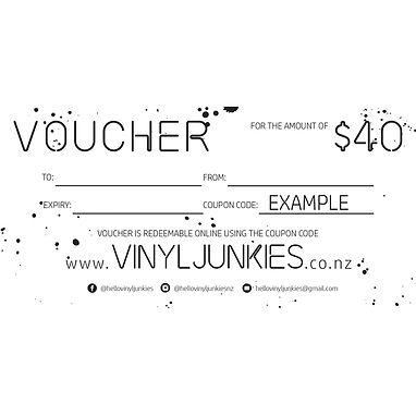 $40 VOUCHER | GIFT VOUCHER