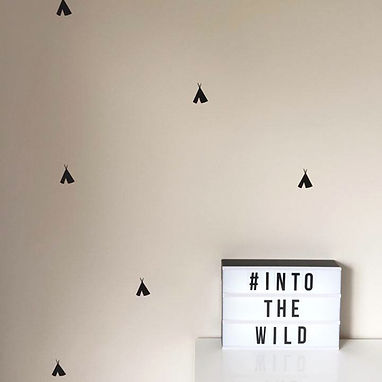 TEEPEES   WALL DECALS