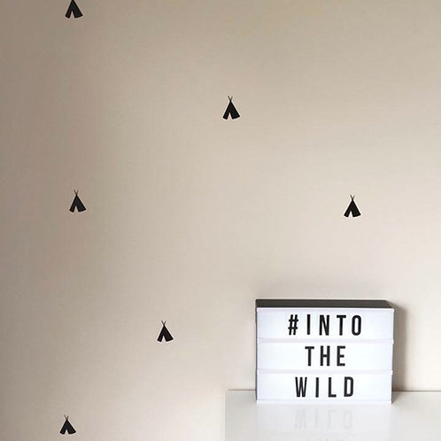 TEEPEES | WALL DECALS
