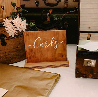 CARDS + WELL WISHES   WEDDING DECALS