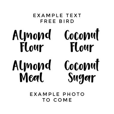 FREEBIRD | KETO / GLUTEN FREE LABELS