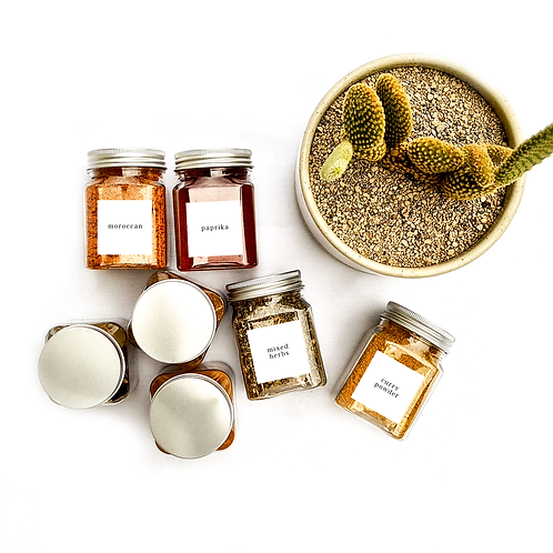 SQUARE | HERB & SPICE ME LABELS | PIMP MY PANTRY