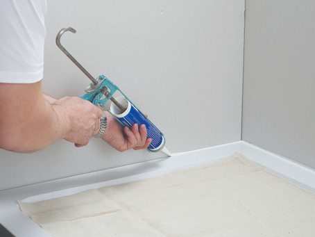 Using Silicone To Fix A Leaking Shower