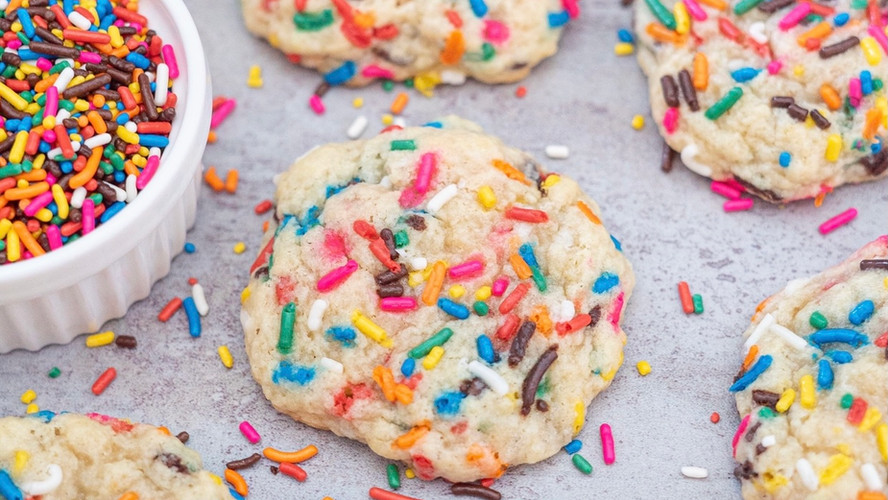 Funfetti Cream Cheese Cookies