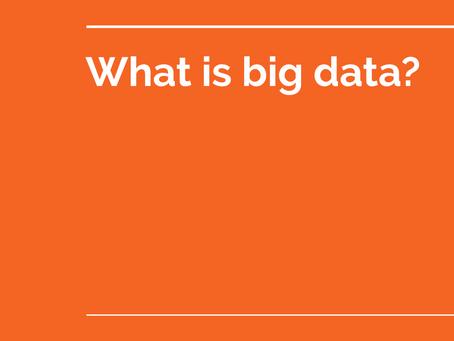 Big data with Postgres